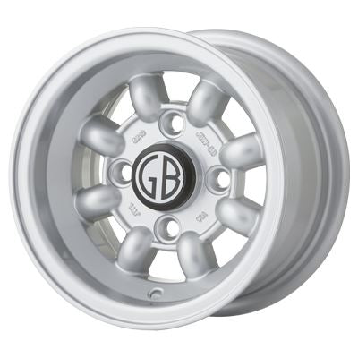 10 x 6.0 8 Spoke 4x101.6 ET08 Mini Road Wheel - JBW
