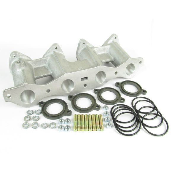 Ford Cross flow manifold kit for twin DHLA/DCOE