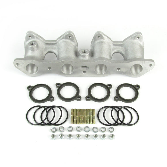 Ford Fiesta/ Escort Cross flow manifold for twin DHLA/DCOE short 3.1