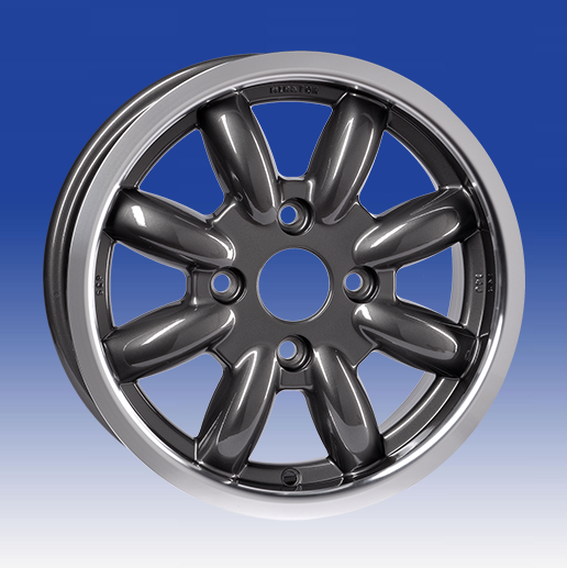 13 x 5.0 8 spoke 4x101.6 ET20 Gunmetal