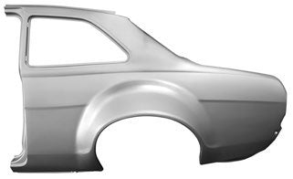 Ford Escort MK1 Escort Rear Quarter Panel with Bubble Arch - Left 25-16-51-5