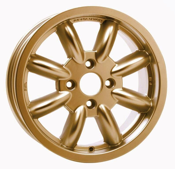 15x6 8 Spoke Escort Group 4 4x108 Gold ET15