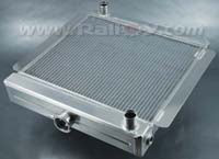 Alloy radiator BDA square Top Tank