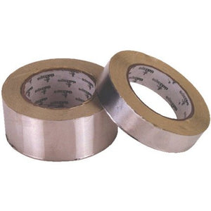 Heat Reflective Aluminised Tape 25mm x 50 metres