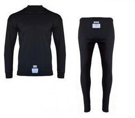 Black - FIA Underwear set long sleeve & long Leg