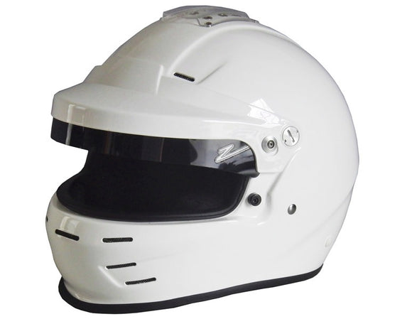 Zamp Full Face Helmet With GT Peak SA2015 White or Matt Black