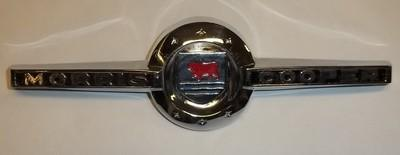 Mk1 Mini Morris Cooper Bonnet Badge