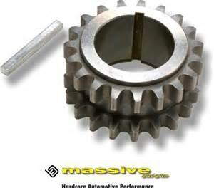 Duratech Key crankshaft gear