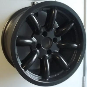 15x8 8 spoke 4x100 et0 black