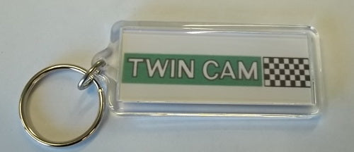 Twincam Key Ring