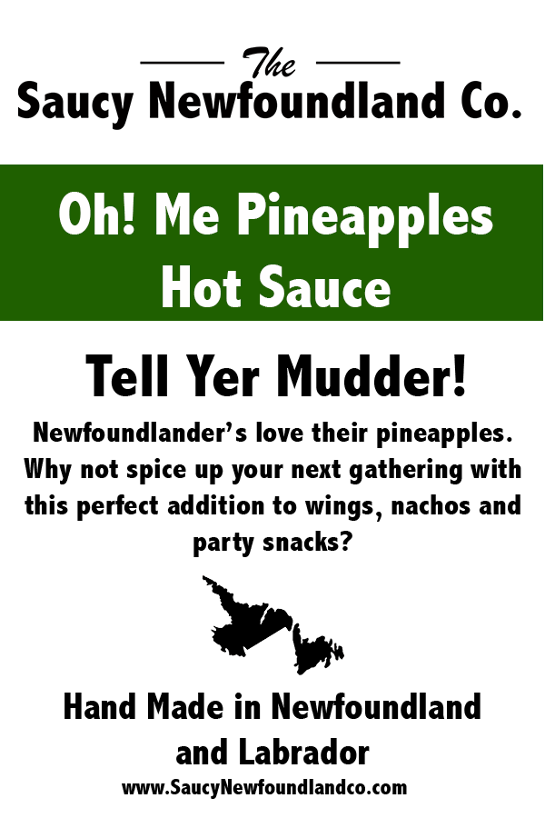 Oh! Me Pineapples Hot Sauce