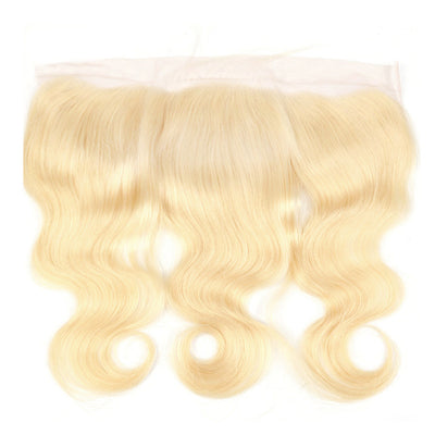 13x4 European Blonde Lace Frontal