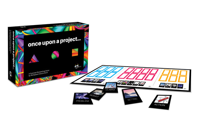 Games;   Once Upon a Project - A Workplace Game for Business Storytelling