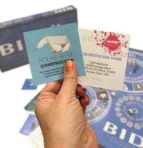 Games;   Bid - The Game of Strategy for Services Consultants