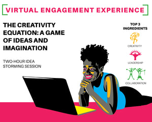 VEE - The Creativity Equation; A Virtual Game of Ideas and Imagination