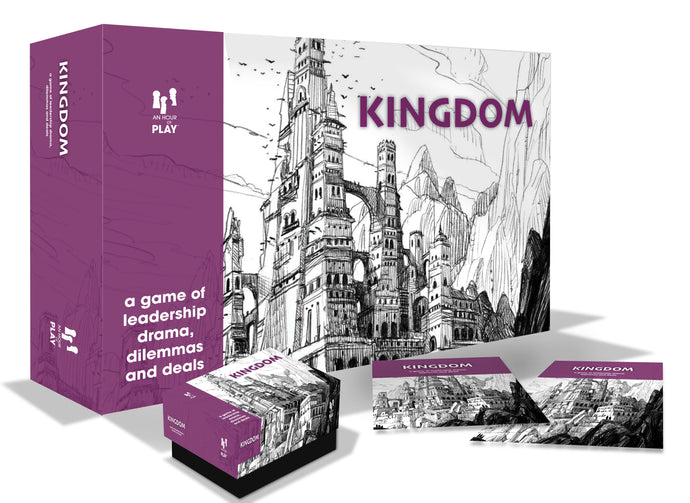 Games;   Kingdom - A Workplace Game of Leadership Challenges and Problem Solving
