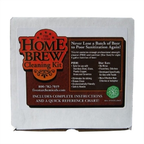Five Star Homebrew Cleaning Kit