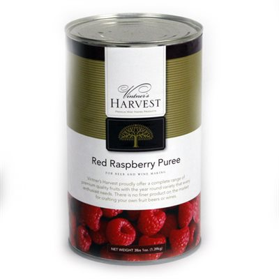 RED RASPBERRY PUREE (49 OZ)