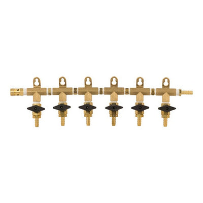 GAS MANIFOLD - 6 WAY