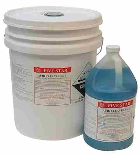 ACID CLEANER #6 (5 GALLONS)