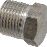 "Stainless_Steel_1/2""_MPT_Plug"