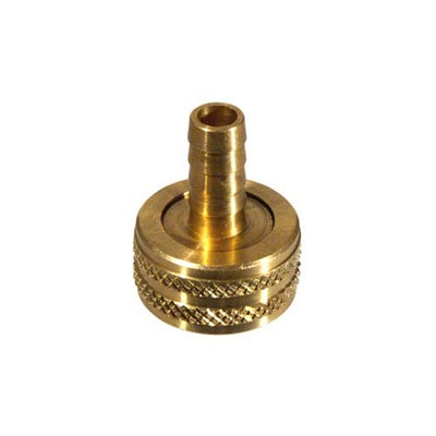 Brass Hose Female x 3/8
