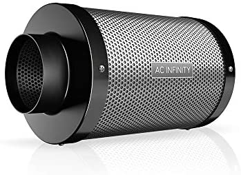 AC INFINITY, DUCT CARBON FILTER, AUSTRALIAN CHARCOAL, 4-INCH