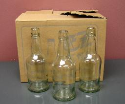 EZ CAP BOTTLES 16 OZ (CLEAR)