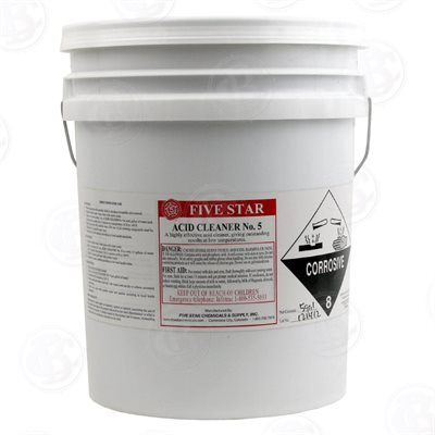 ACID CLEANER #5 (5 GALLONS)