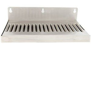 "Stainless_Steel_Wall_Mount_Drip_Tray_10""_X_6"""