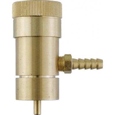 OXYGEN REGULATOR FOR DISPOSABLE TANKS W/BARB