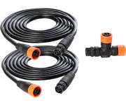 9' PHOTO-LOC 0-10V Cable Kit, 2 cables and TEE (M-T-T Duo)