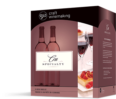 Cru Specialty Raspberry Mocha Dessert Wine Kit