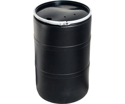 56 Gallon Drum w/Drilled Lid & Lock