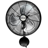 Hurricane Pro High Velocity Oscillating Metal Wall Mount Fan 16 in