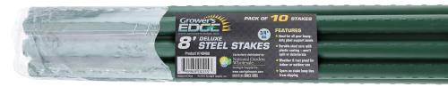 Grower's Edge Deluxe Steel Stake 3/4 in Diameter 8 ft (10/Bag)