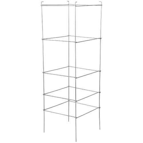 Grower's Edge High Stakes Folding Tomato Cage - 5 Tier - 48 in x 15 in x 15 in