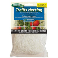 Gardeneer Trellis Netting 5 ft x 30 ft w/ 7 in Holes (12/Cs)