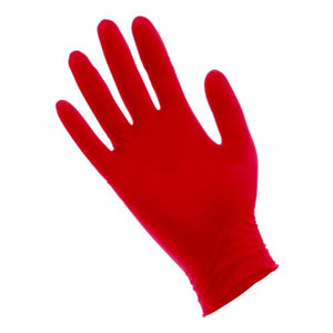 Red Lightning Powder Free Nitrile Gloves Small (100/Box)