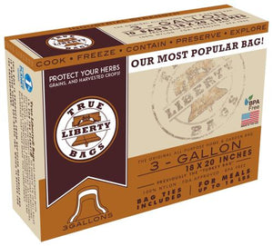 True Liberty 3 Gallon Bags 18 in x 20 in (25/pack)