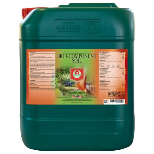 House and Garden Bio 1-Component Soil 10 Liter (2/Cs)