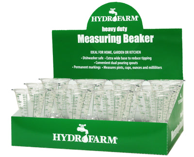 Hydrofarm Measuring Beaker, case of 13