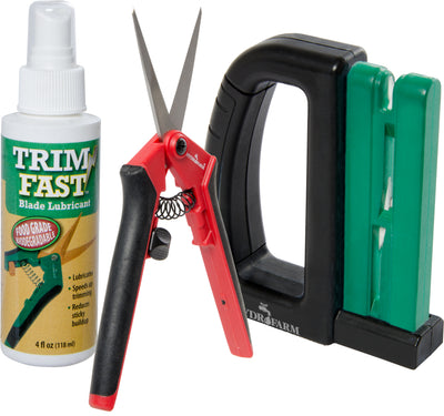 Professional Trimmer Pack w/ 12 Lightweight Pruners