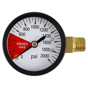 "High_Pressure_Gauge_1/4""_MPT_Stem"
