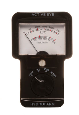 Analog Light Meter (Footcandles) (6/cs)