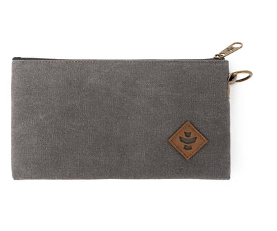 Broker - Ash, Zippered Money Bag