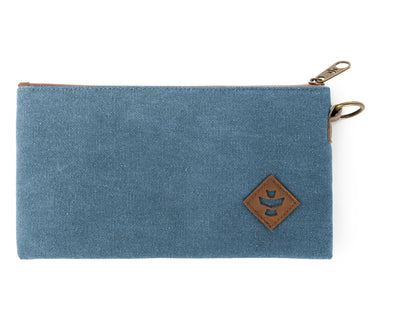 Broker - Marine, Zippered Money Bag