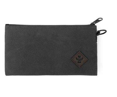 Broker - Smoke, Zippered Money Bag