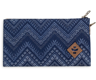 Broker - Indigo, Zippered Money Bag