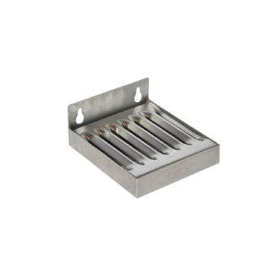 "Stainless_Steel_Wall_Mount_Drip_Tray_4""_X_4.5"""